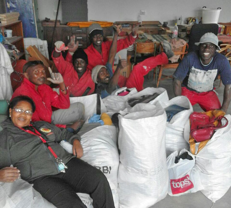 The Darling Trust distributes donated clothing from 'Do Good' and 'Rocking The Daisies!'