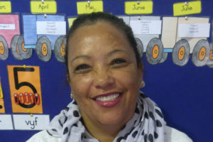 Ellamaine Fredericks  Grade R practitioner – Evita's Darlings